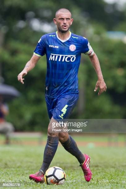 Igor Miovic of BC Rangers in action during the Hong Kong Premier League Week 4 match between BC Rangers vs Sun Bus Yuen Long at the Sham Shui Po...