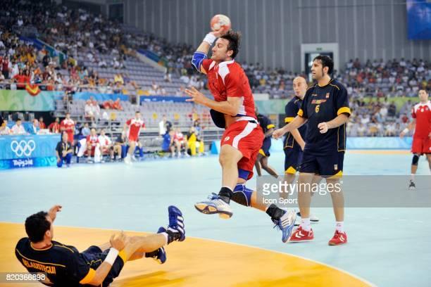 Igor VORI Espagne / Croatie 1er tour Handball Jeux Olympiques Pekin