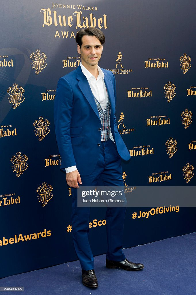 Igor Yebra attends 'Blue Label Awards' at Residence of the Ambassador of United Kingdom in Spain on June 28, 2016 in Madrid, Spain.