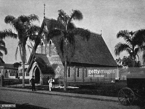 Igreja dos Protestantes' 1895 From Sao Paulo by Gustavo Koenigswald [S Paulo 1895] Artist Paulo Kowalsky