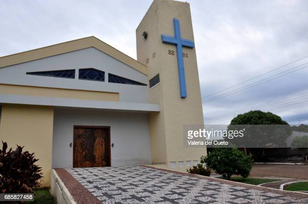 Igreja Matriz Nossa Senhora de Lourdes, em Anastácio