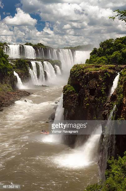 Iguassu River and Falls