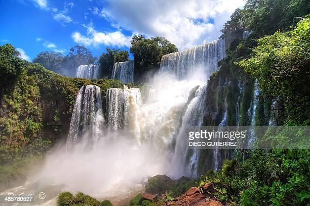 Iguazu waterfall