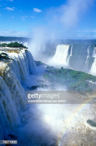 'Iguazu Waterfalls in Parque Nacional Iguazu, Salto Floriano, Brazil' : Stock Photo