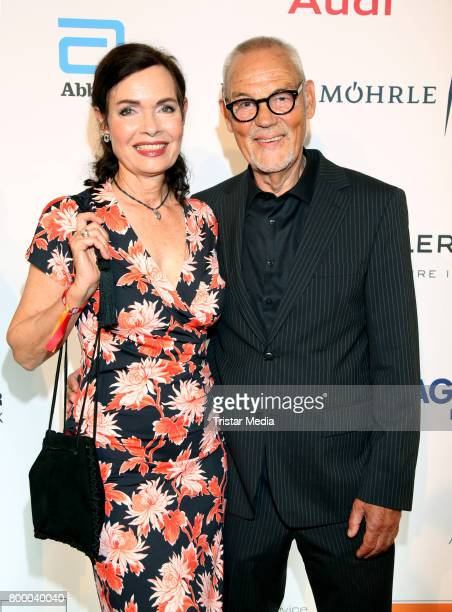 Iha von der Schulenburg and Hyronismus Proske attend the Charity Evening 'Das kleine Herz im Zentrum' at Curio Haus on June 22 2017 in Hamburg Germany
