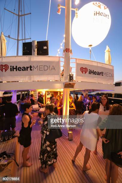 iHeartMedia hosts seated dinner of 40 female marketing and agency executives aboard the iHeartMedia Yacht Featuring a fireside chat on female...