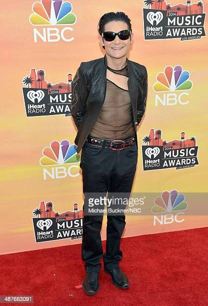 iHEARTRADIO MUSIC AWARDS Pictured Actor Corey Feldman arrives at the iHeartRadio Music Awards held at the Shrine Auditorium on May 1 2014