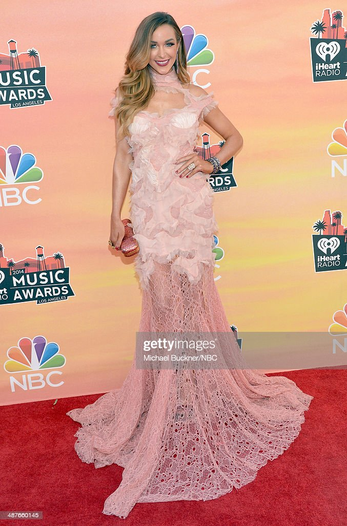 iHEARTRADIO MUSIC AWARDS Pictured Model Courtney Sixx arrives at the iHeartRadio Music Awards held at the Shrine Auditorium on May 1 2014