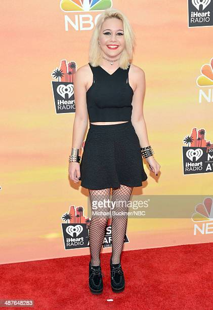 iHEARTRADIO MUSIC AWARDS Pictured Recording artist Bea Miller arrives at the iHeartRadio Music Awards held at the Shrine Auditorium on May 1 2014