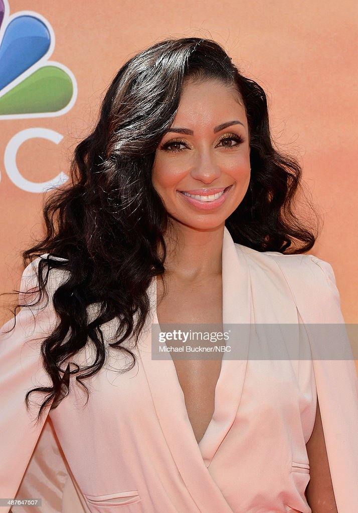 Recording artist Mya arrives at the iHeartRadio Music Awards held at the Shrine Auditorium on May 1, 2014 --