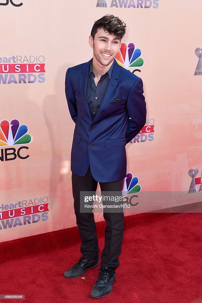 iHEARTRADIO MUSIC AWARDS Pictured Singersongwriter Max Schneider arrives at the iHeartRadio Music Awards held at the Shrine Auditorium on March 29...