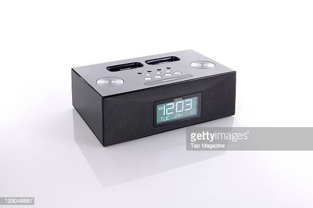 iHome iP88 alarm clock dock for Apple iPhone and iPod touch session for Tap Magazine taken on February 8 2011