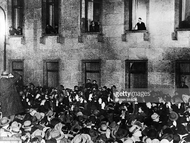 the appointment of hitler as chancellor Hitler was somewhat reluctant to resume leadership of the nazi party after his  imprisonment, but was eventually convinced by his followers to take up the role.