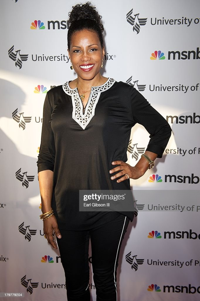 IIyasah Shabazz attends 'Advancing The Dream' live at The Apollo Theater on September 6, 2013 in New York City.