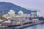 Ikata nuclear power plant (Ehime Prefecture) in Japan