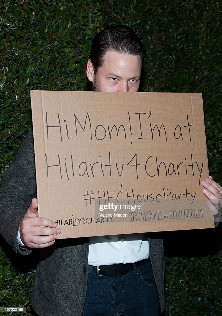 Ike Barinholtz arrives at the 2nd Annual Hilarity for Charity Event at Avalon on April 25, 2013 in Hollywood, California.