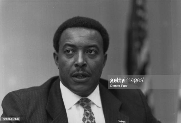 Ike Kelley new acting regional administrator for HUD 4/3/1989 Credit The Denver Post