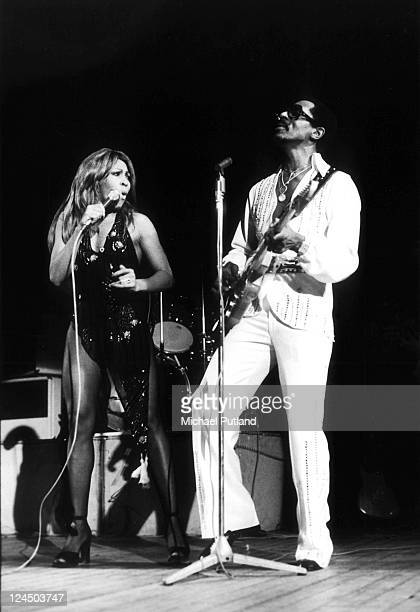 Ike Turner and Tina Turner perform on stage London October 1975