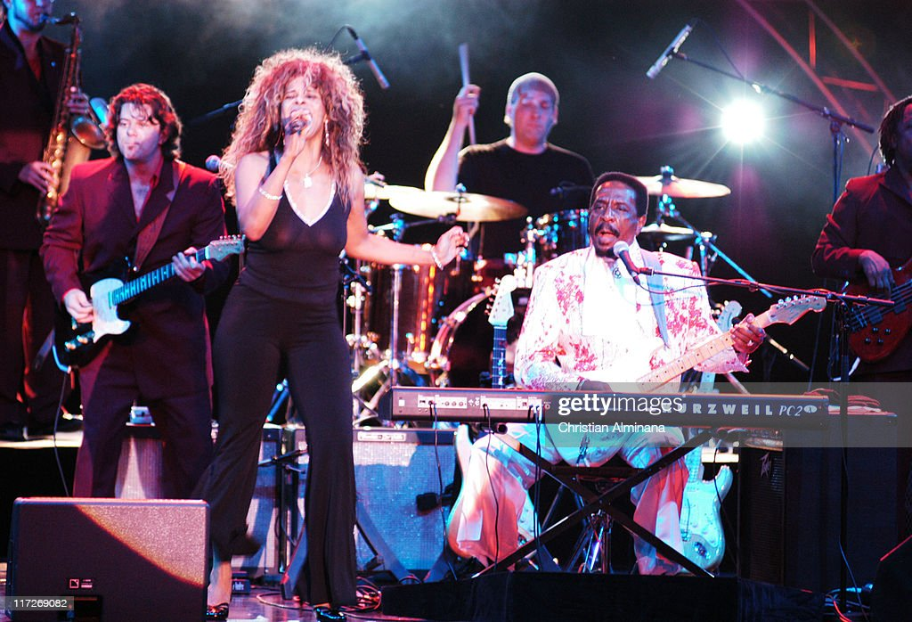 Ike Turner during Ike Turner Performs Live in Monte Carlo - July 4, 2004 at Monte Carlo Sporting Club in Monte Carlo, Monaco.