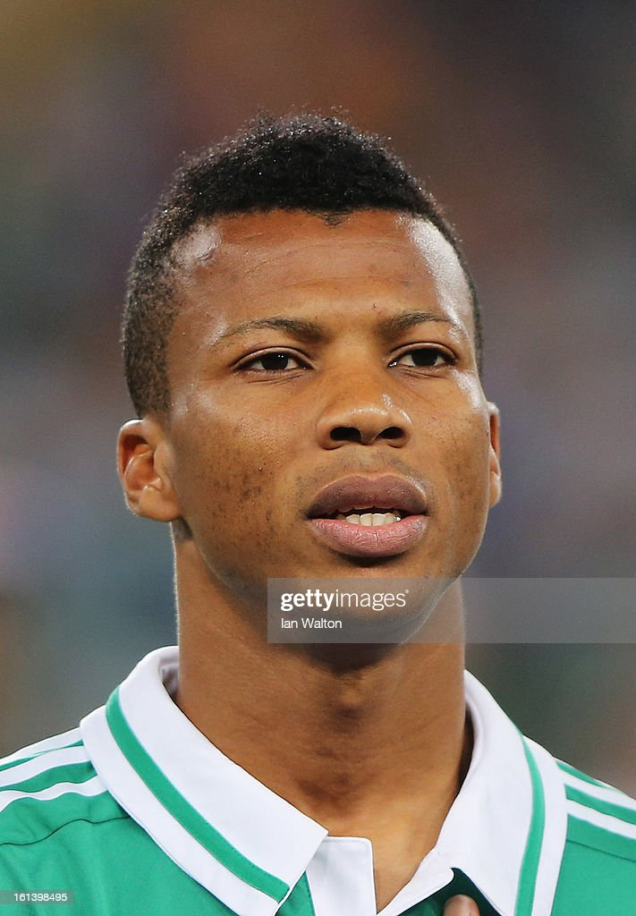 Ikechukwu Uche of Nigeria during the 2013 Africa Cup of Nations Final match between Nigeria and Burkina at FNB Stadium on February 10, 2013 in Johannesburg, South Africa.