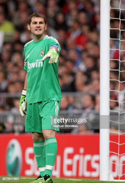 Iker Casillas Real Madrid / Milan AC Champions League 2010/2011
