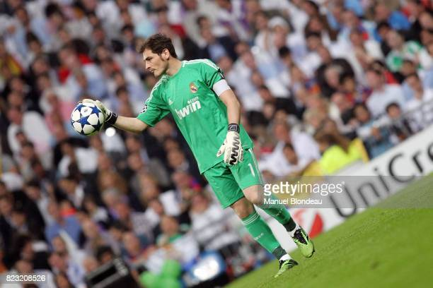 Iker Casillas Real Madrid / Barcelone 1/2 finale aller de Ligue des Champions MadridStadeSantiago Bernabeu