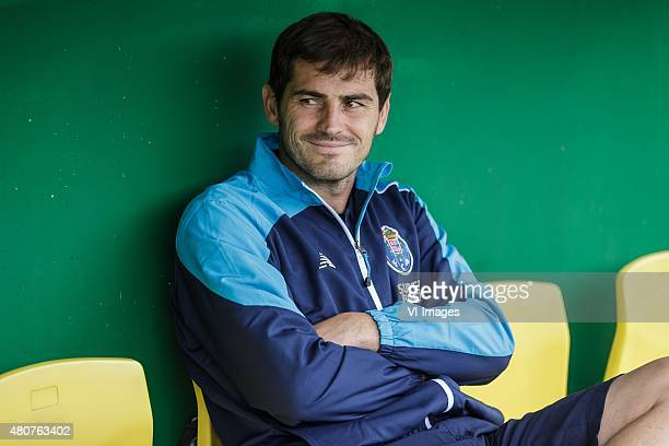 Iker Casillas of FC Porto during the International friendly match between Fortuna Sittard and FC Porto on July 15 2015 at the Trendwork Arena in...