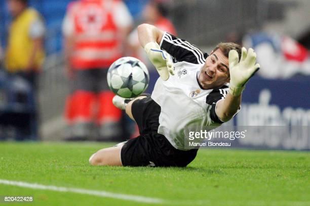 Iker CASILLAS Real Madrid / Bate Borisov Champions League 200809 Group D 1er journΘe