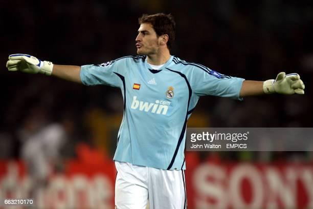 Iker Casillas Real Madrid goalkeeper