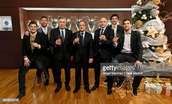 ¿Cuánto mide Florentino Pérez? - Altura - Real height Iker-casillas-sergio-ramos-head-coach-carlo-ancelotti-president-picture-id460805346?s=594x594