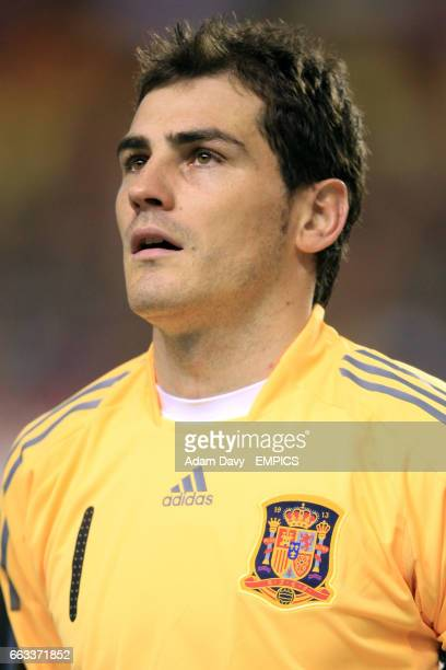 Iker Casillas Spain goalkeeper