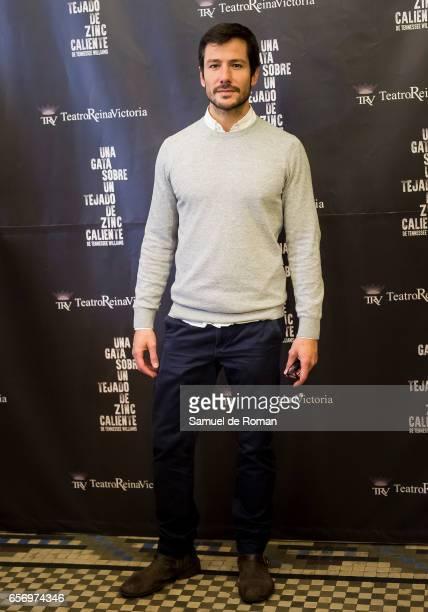 Iker Lastra attends 'Una Gata Sobre Un Tejado de Zinc Caliente' Madrid Premiere on March 23 2017 in Madrid Spain