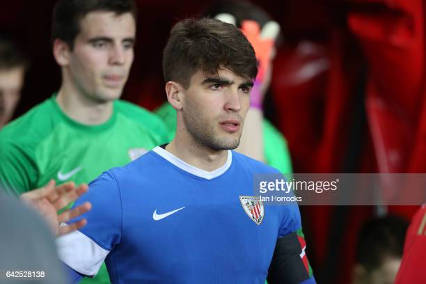 Iker Undabarrena of Bilbao during the Premier League International Cup Quarter Final match between Sunderland U23 and Athletic Bilbao U23 at the...