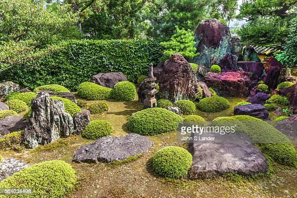 Ikkyuji Shuonan Hojo Garden is a classic karesansui rock garden A smaller mossandrock garden with a stone pagoda is behind the hojo The garden has...