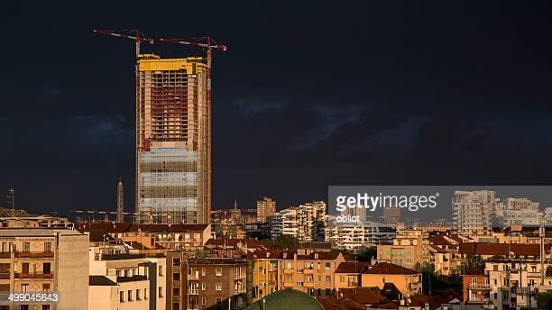 'Il Dritto' Under Construction