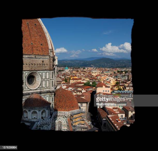 Il Duomo di Firenze, Vista dalla finestra