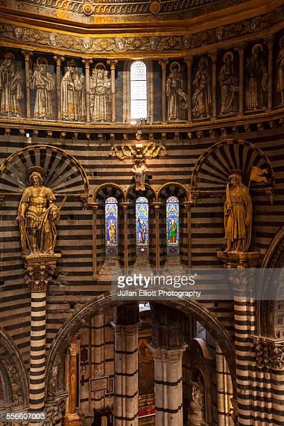 Il duomo di Siena or Siena cathedral, Italy