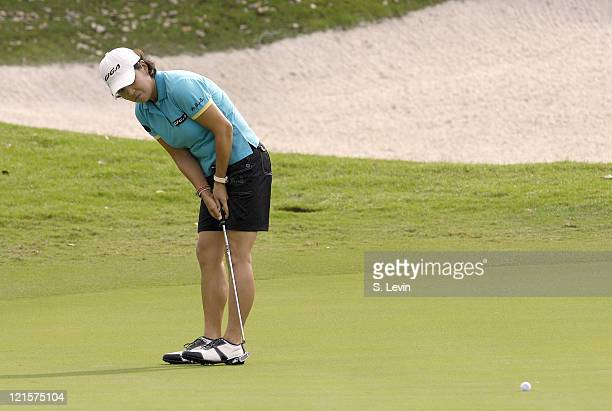 Il Mi Chung during the first round of the ADT Championship at the Trump International Golf Club in West Palm Beach Florida on Thursday November 16...