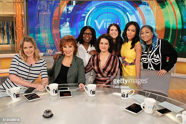 THE VIEW Ilana Glazer and Abbi Jacobson from the sitcom 'Broad City' are guests on 'THE VIEW' 3/2/16 airing on the ABC Television Network SYMONE