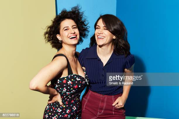 Ilana Glazer and Abbi Jacobson of Comedy Central/Viacom's 'Broad City' pose for a portrait during the 2017 Summer Television Critics Association...