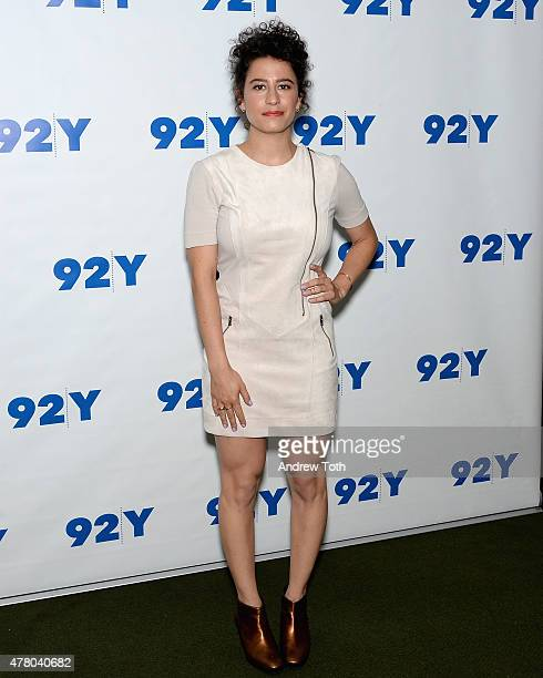 Ilana Glazer attends 92nd Street Y Presents Abbi Jacobson and Ilana Glazer In Conversation with Amy Ryan at 92nd Street Y on June 21 2015 in New York...