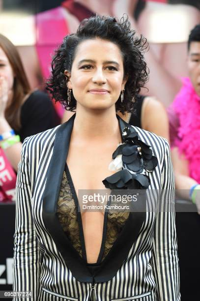Ilana Glazer attends the 'Rough Night' premeire at AMC Loews Lincoln Square on June 12 2017 in New York City