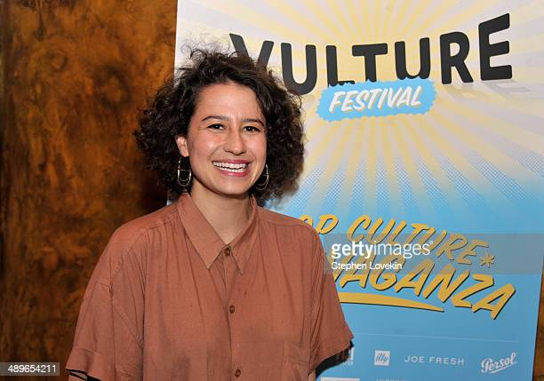 Ilana Glazer attends Vulture Festival Comedy Night at The Bell House on May 11 2014 in New York City