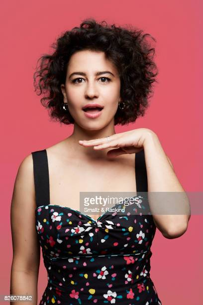 Ilana Glazer of Comedy Central/Viacom's 'Broad City' posse for a portrait during the 2017 Summer Television Critics Association Press Tour at The...