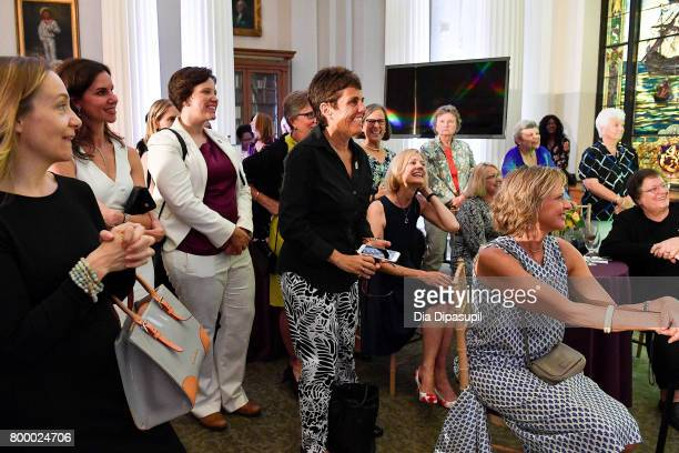 Ilana Kloss attends the Women's Sports Foundation 45th Anniversary of Title IX celebration at the NewYork Historical Society on June 22 2017 in New...