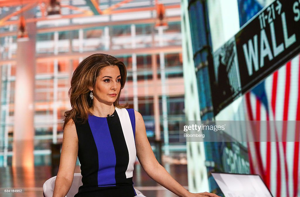 Ilana Weinstein, president and chief executive officer of IDW Group LLC, listens during a Bloomberg Television interview in New York, U.S., on Wednesday, May 25, 2016. Weinstein discussed the performance of hedge funds. Photographer: Chris Goodney/Bloomberg via Getty Images