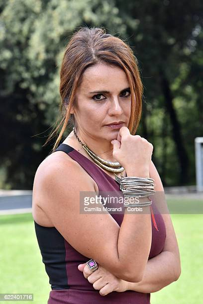 Ilaria Borrelli attends 'Talking To The Trees' Photocall In Rome the on November 11 2016 in Rome Italy