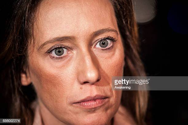 Ilaria Cucchi and member of her family take part in a vigil in Rome to remember her brother Stefano Cucchi and his death while in police custody in...