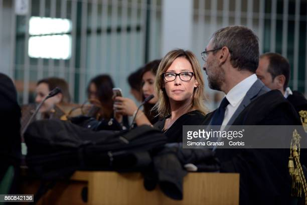 Ilaria Cucchi sister of Stefano Cucchi during first hearing of the new trial against five military police officers for the death Stefano Cucchi on...
