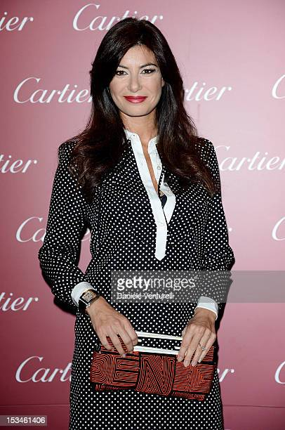 Ilaria d'Amico attends the Cartier Boutique reopening cocktail party on October 5 2012 in Milan Italy